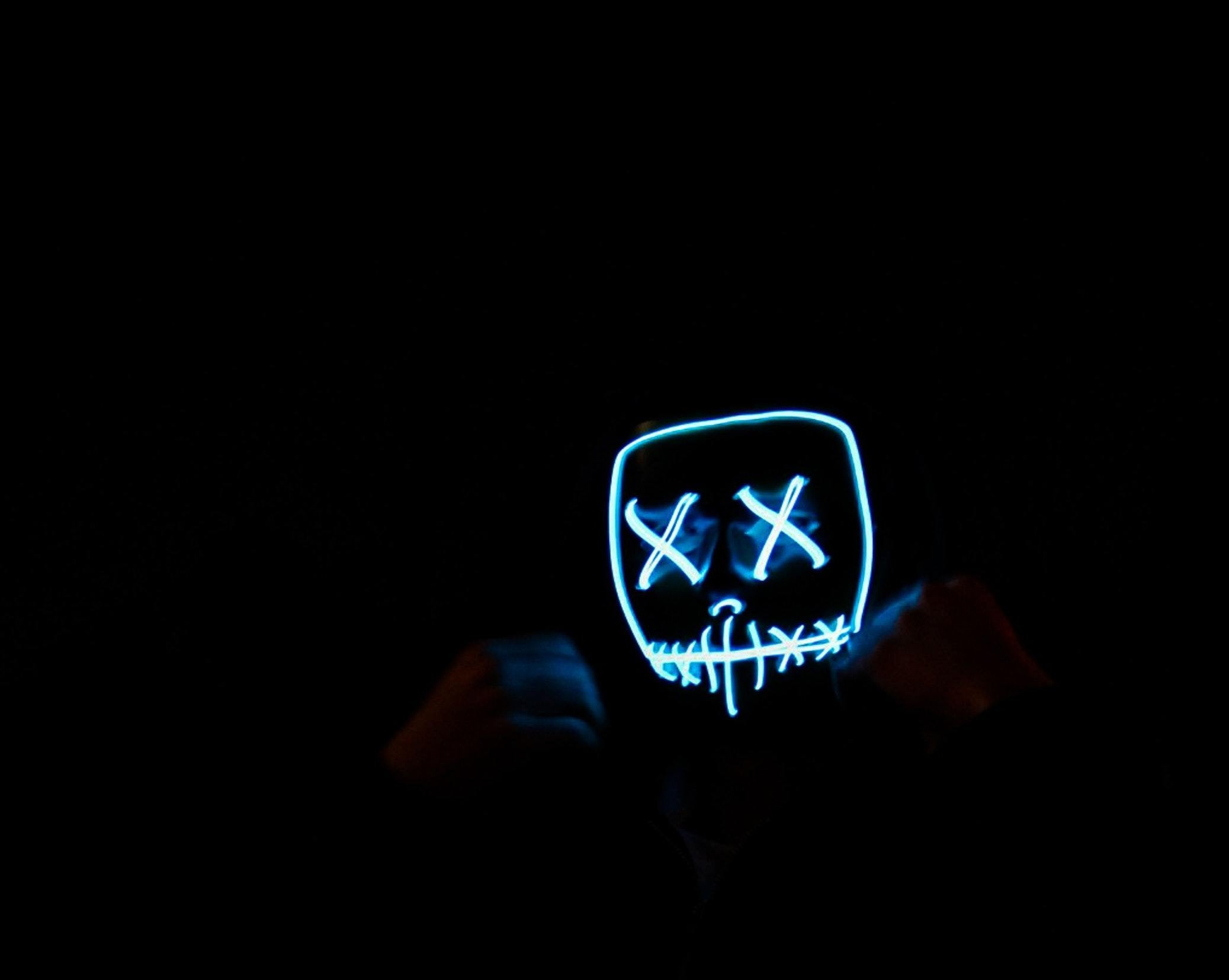 "light-up led mask ""purge"" halloween costume – halloween all year"