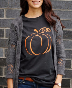 Pumpkin T-Shirt (Women's)