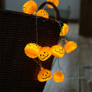 Pumpkin LED String Lights