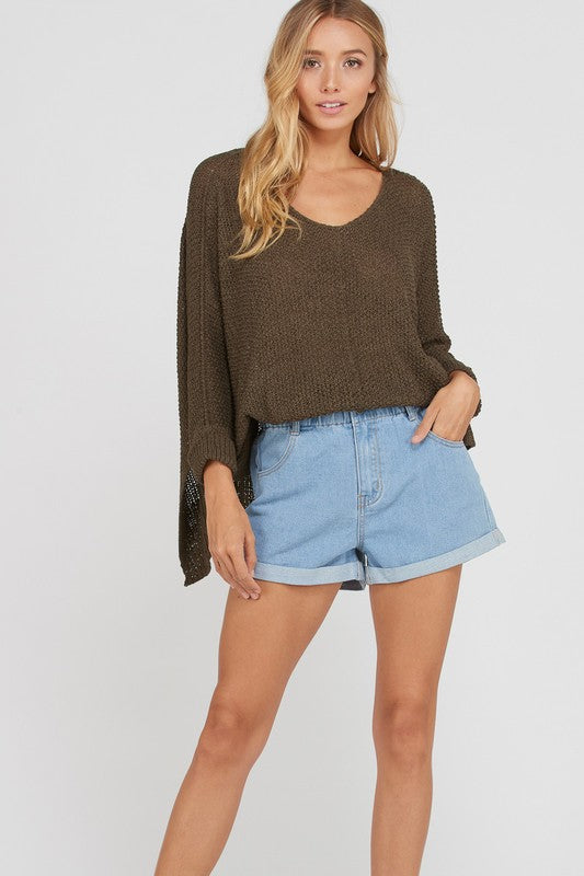 Lucy Sweater - Olive