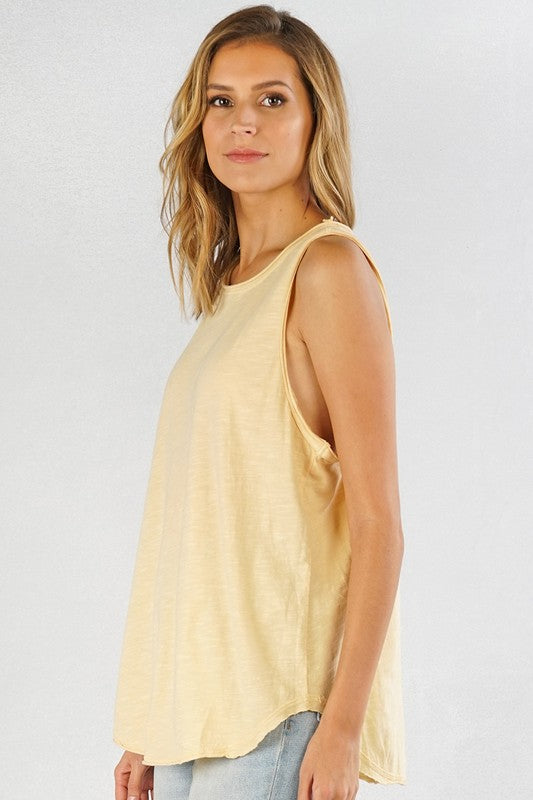 Think Spring Tank - Yellow
