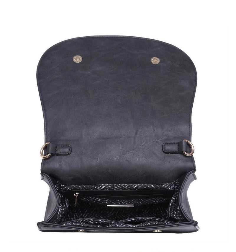 Kylie Messenger Bag - Black