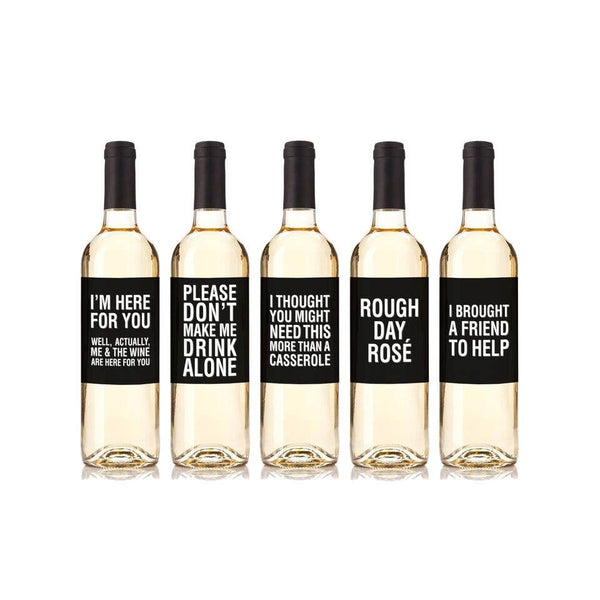 Real Life Wine Labels