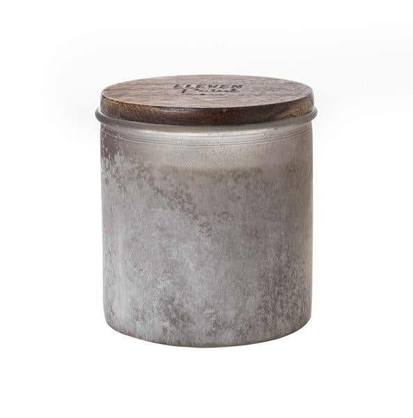 Silver Birch River Rock Candle