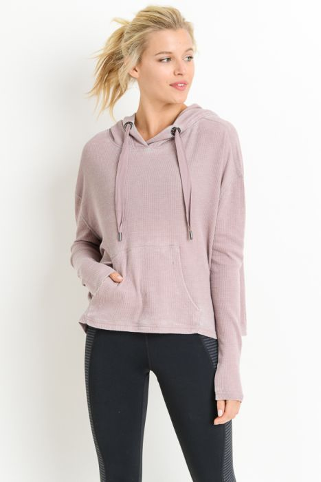 Hood-Pinked Sweatshirt
