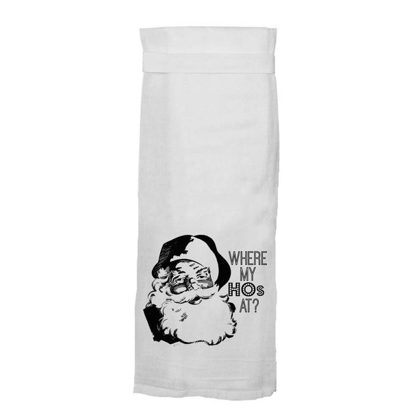 Where My Hos Kitchen Towel
