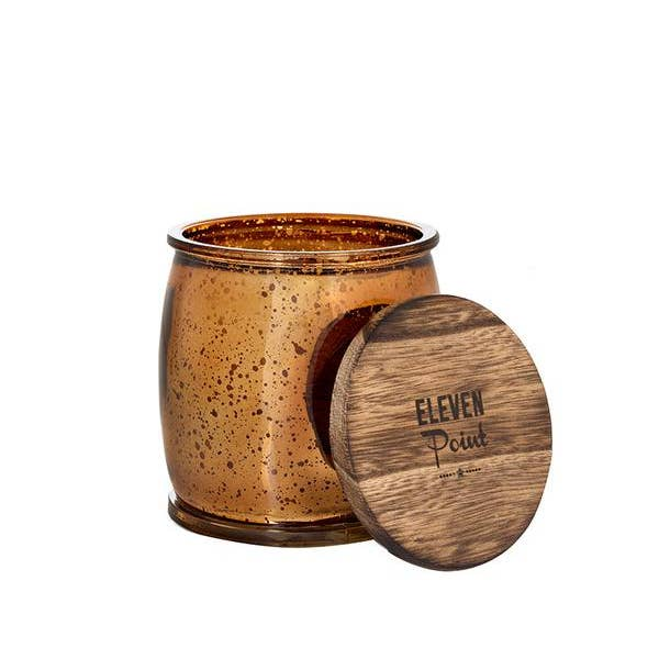 Wildflower Bronze Mercury Barrel Candle