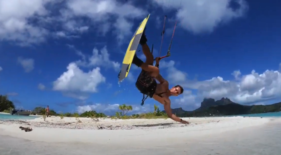 Feeling the winter blues? Warm up with this Eleveight FS freestyle video in Tahiti
