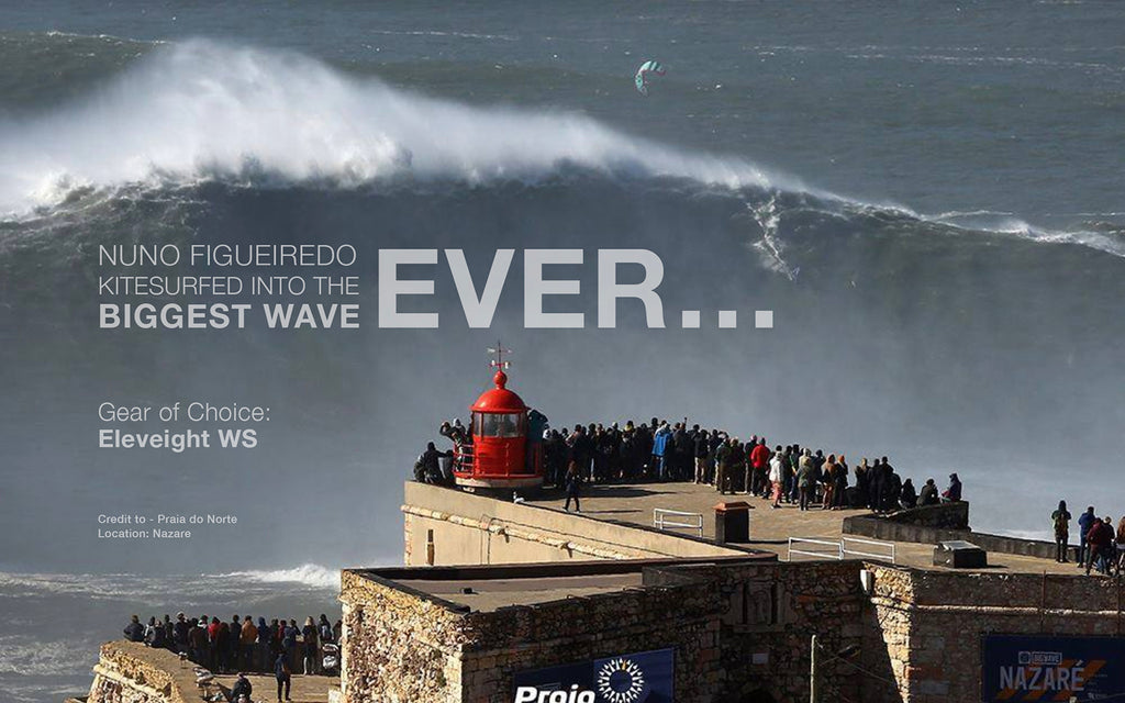 Biggest Kitesurf Wave Ridden Ever! | Kitesurf | Eleveight Kiteboarding | WS Kite