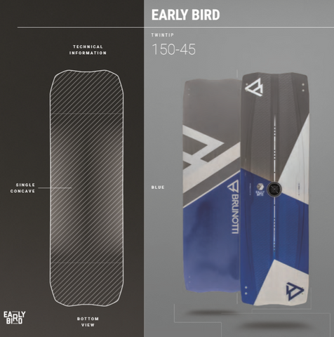 Brunotti Early Bird Kiteboard | Lightwind