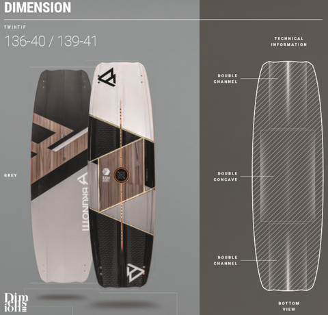 Brunotti Dimension Kiteboard | Freestyle | Freeride