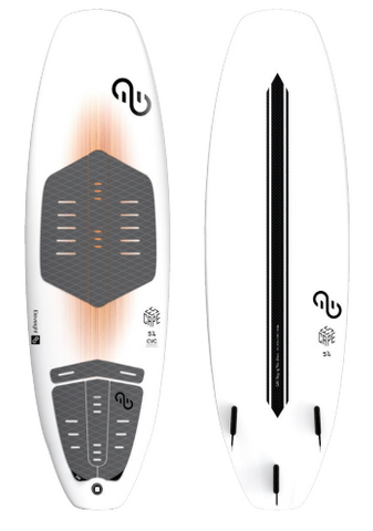 ELEVEIGHT ESCAPE CVC - DIRECTIONAL FREESTYLE SURFBOARD