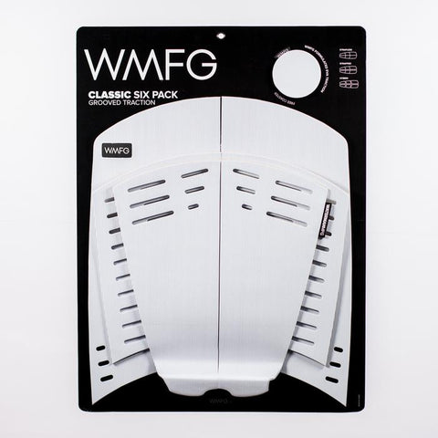 WMFG SIX PACK GROOVED FULL KITEBOARD SURFBOARD DECK PAD
