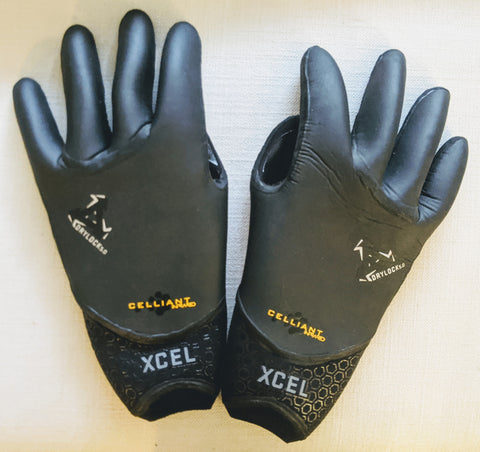 XCEL Drylock 5 mm Gloves Sz Large
