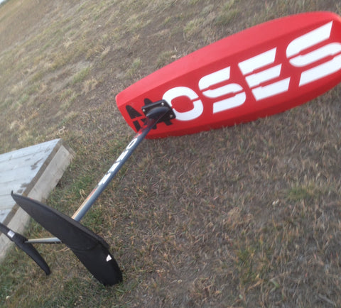 Moses Complete Carbon Foil Board, Mast and Wings