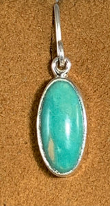 New Mexican Turquoise Dangle by Kevin Randall Studios