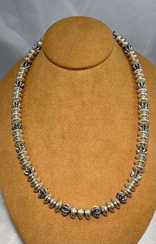 Navajo Bead Necklace by Al Joe