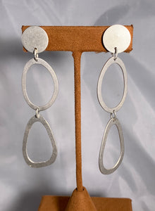 Long Oval Dangles by Gloria Sawin