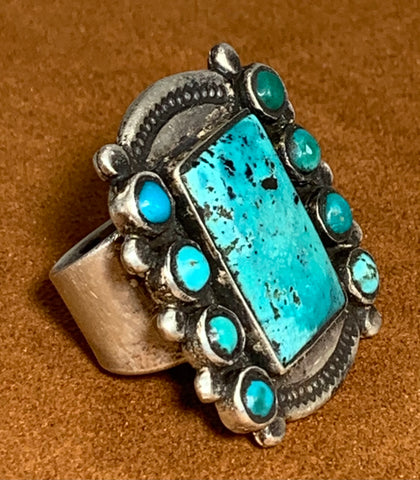 Turquoise Ring by Jock Favour
