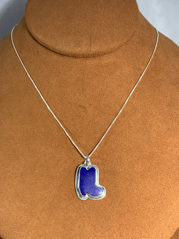 Lapis Boot Necklace by Kevin Randall Studios