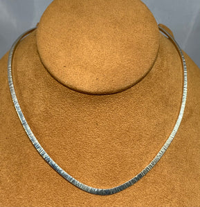 Sterling Silver Choker by Al Joe