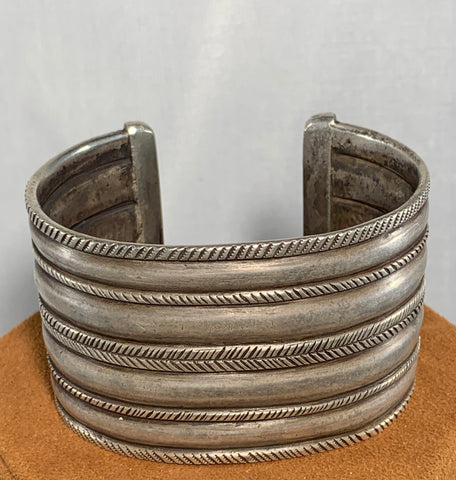 Coin Silver Cuff by Jock Favour
