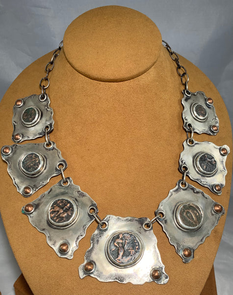 Ancient Coin Necklace by Hal and Margie Hiestand