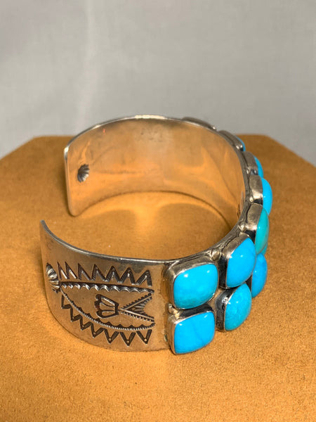 Turquoise Cuff by Don Lucas