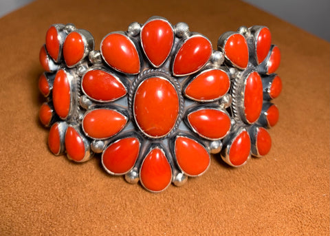 Cluster Coral Cuff by Don Lucas