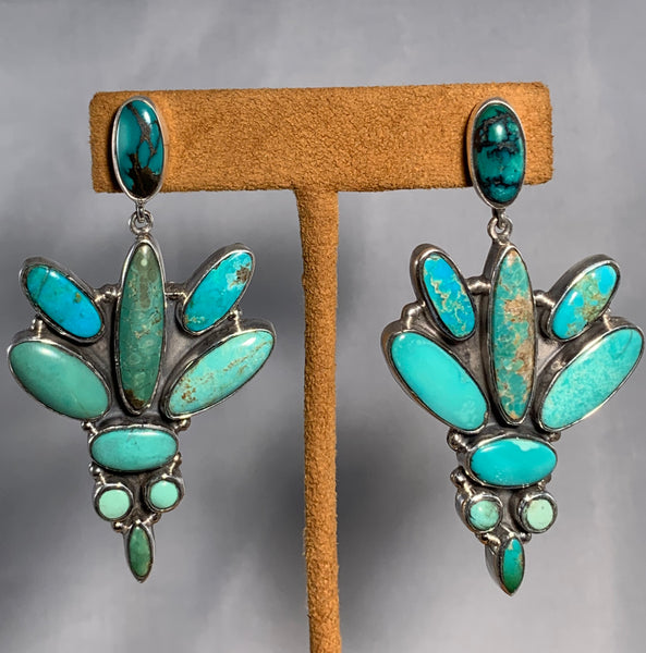 Turquoise Dangles by Federico Jimenez