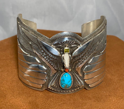 Eagle Cuff by Ray Winner