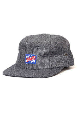 NOBLE CAMP CAP - BLUE