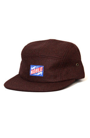 NOBLE CAMP CAP - MAROON