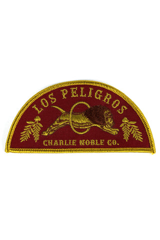 LOS PELIGROS PATCH - Red