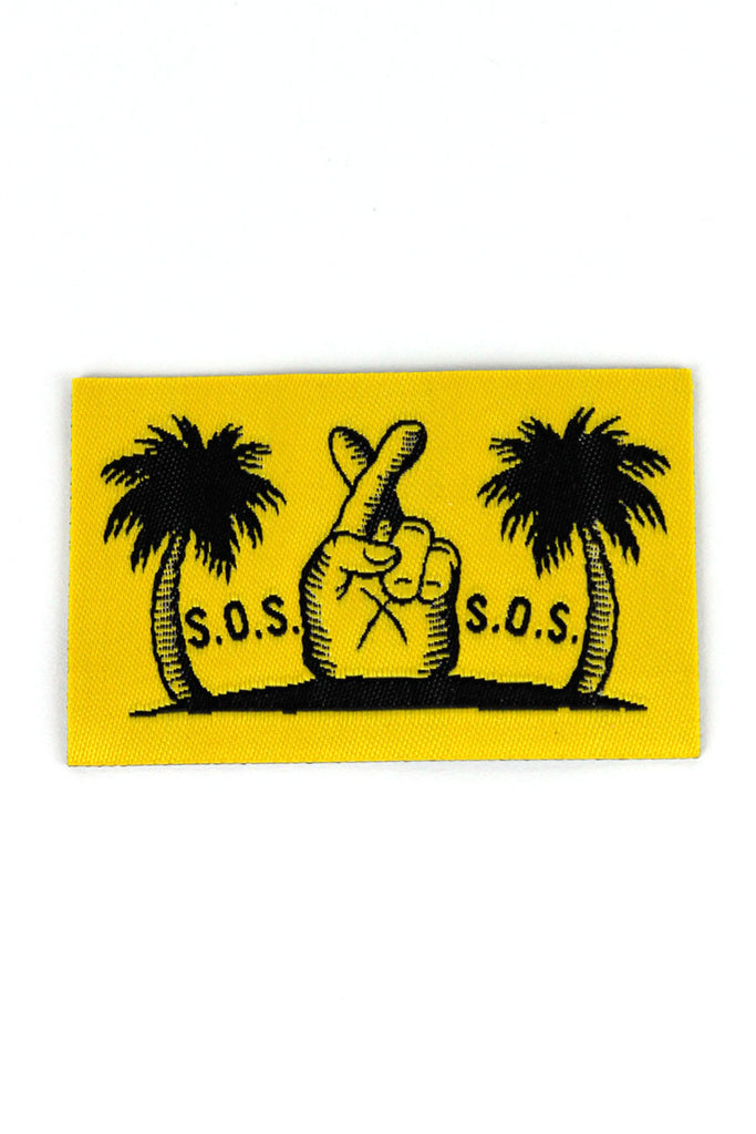 S.O.S. PATCH - Yellow
