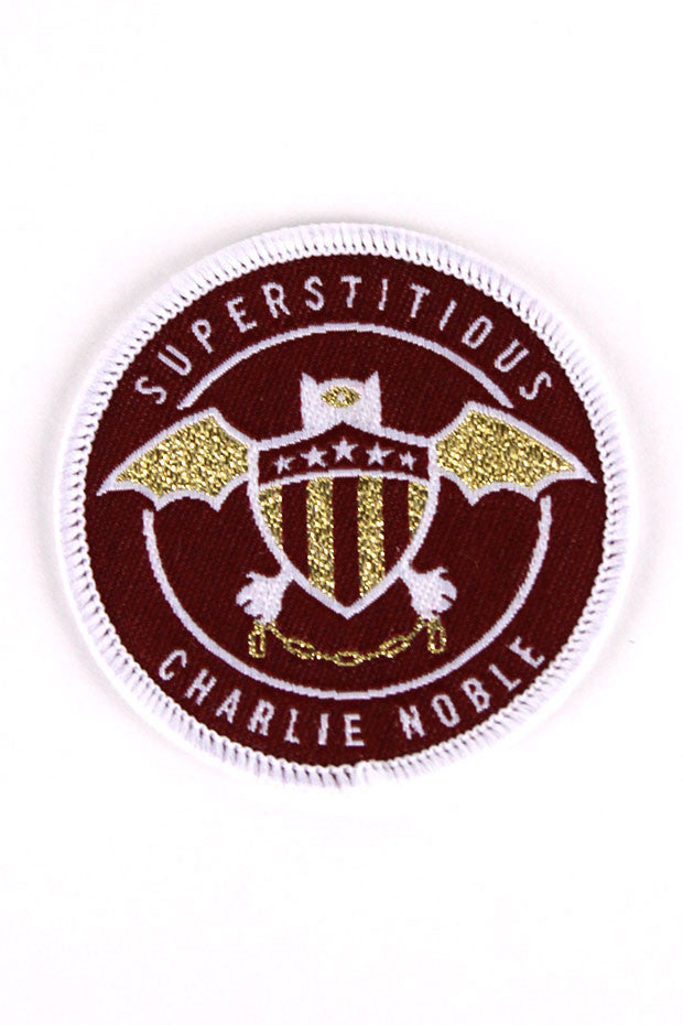 SUPERSTITIOUS PATCH - Red