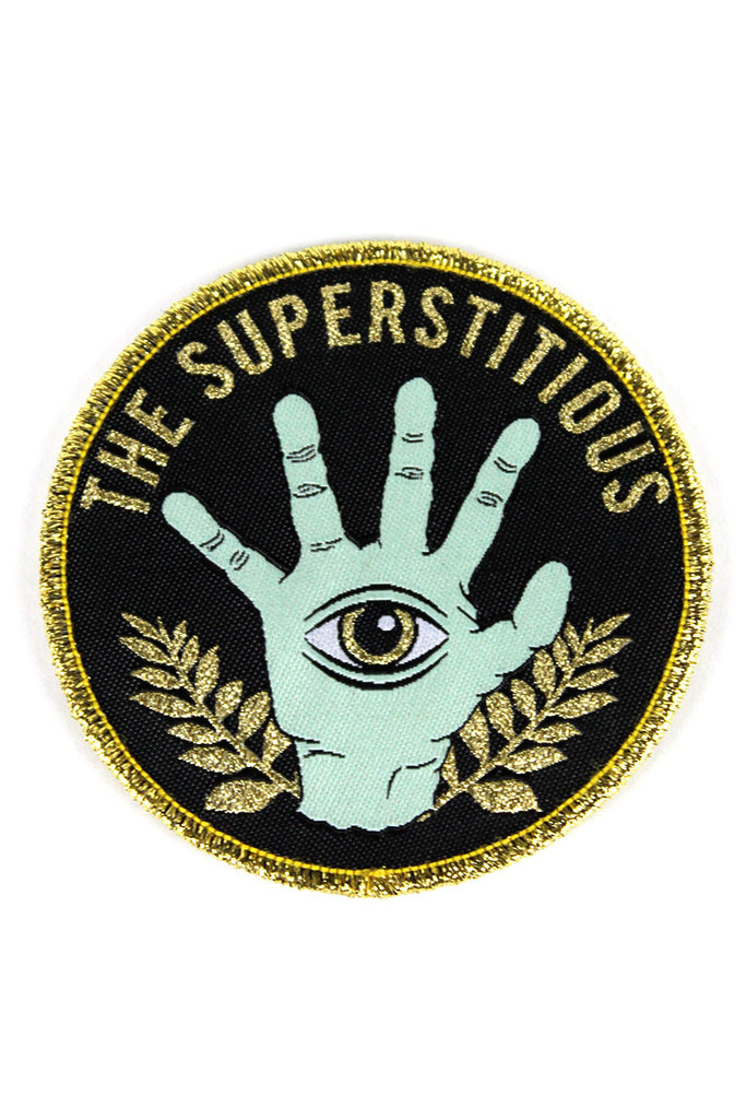 THE SUPERSTITIOUS PATCH - Black