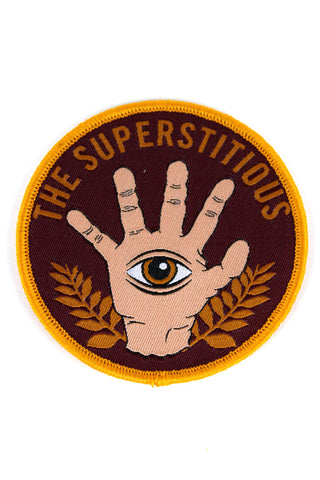 THE SUPERSTITIOUS PATCH - Red