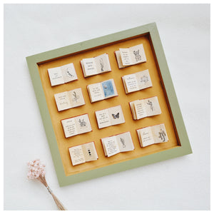 Bookish Shadow Box - PRE ORDER