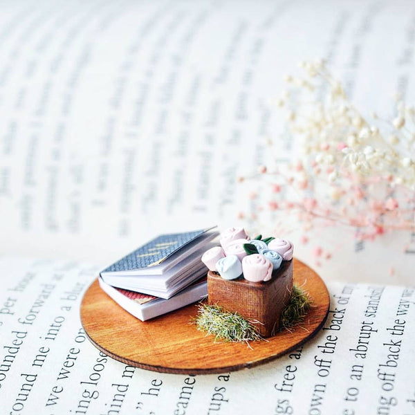 Books and Blooms Collectible