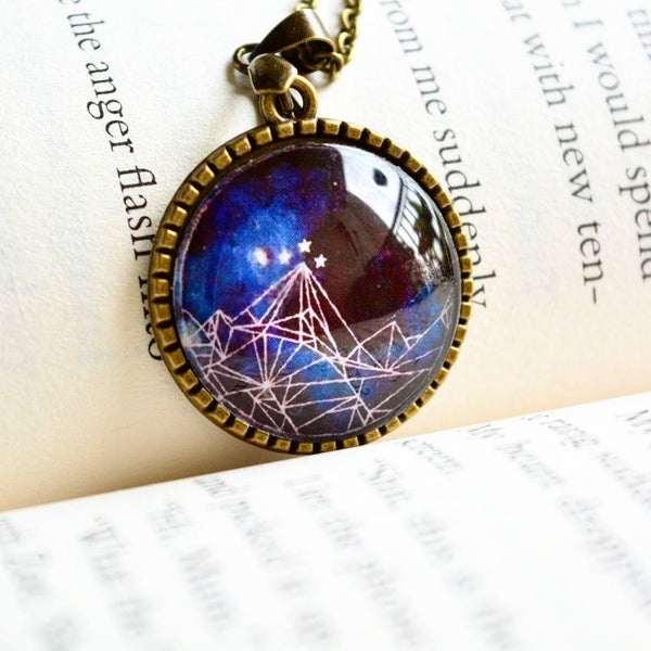Court of Mist and Fury Drawing Pendant - Sarah J Maas