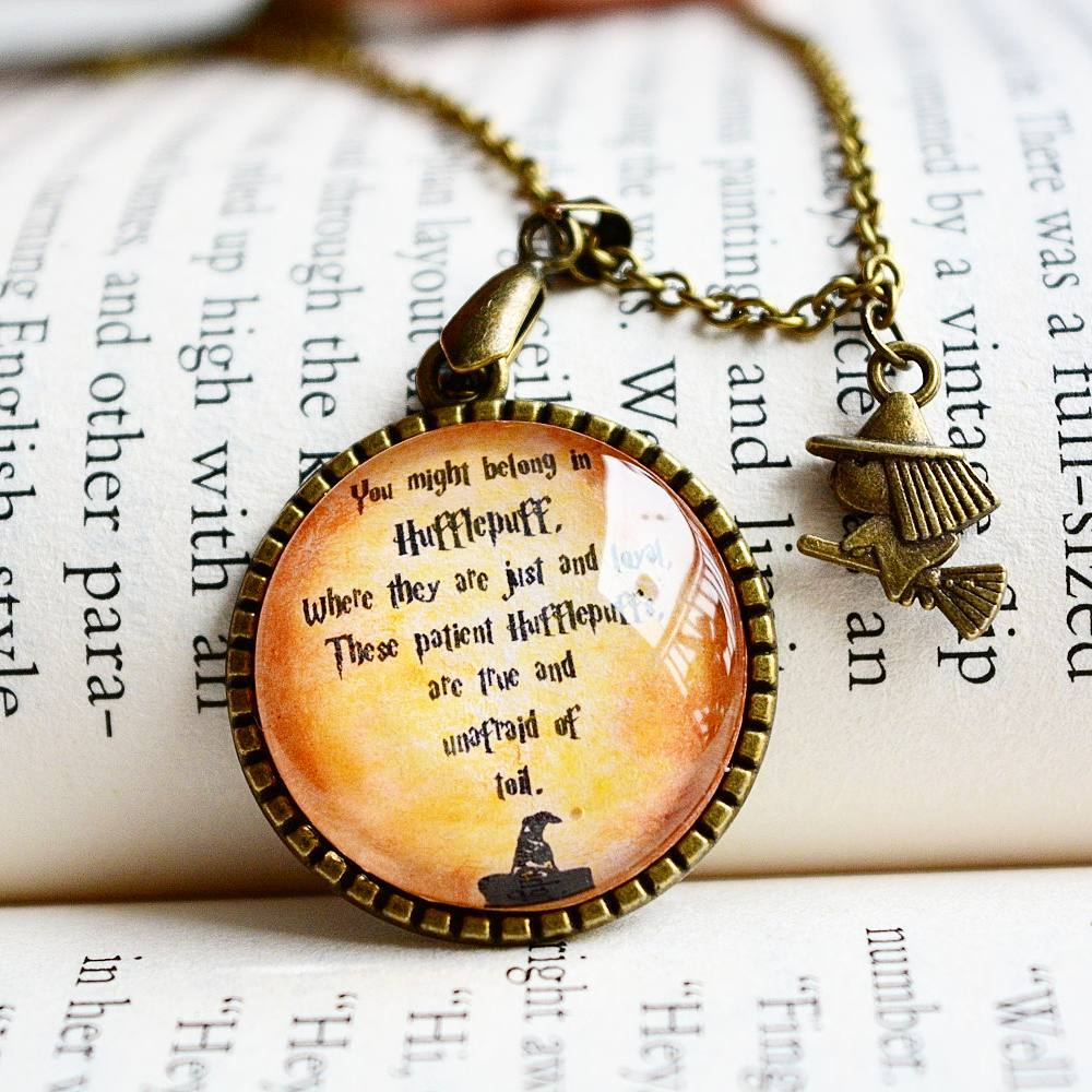Hufflepuff House Harry Potter Pendant