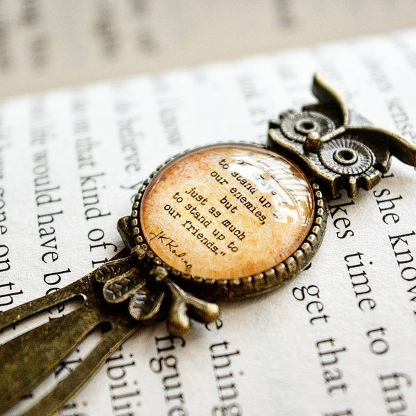 Harry Potter Quote - Owl Bookmark