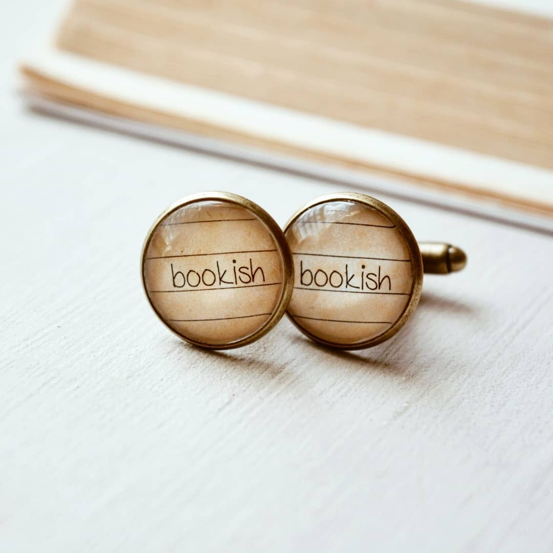 Bookish - Cufflinks