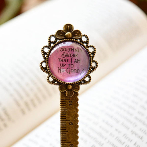I swear to God - Harry Potter Quote Ruler n Bookmark