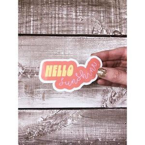 Hello Sunshine Decal - Global Hues Market