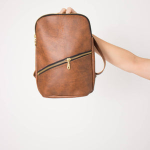 Mini Backpack {brown} - Global Hues Market