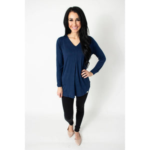 Tunic {navy} - Global Hues Market