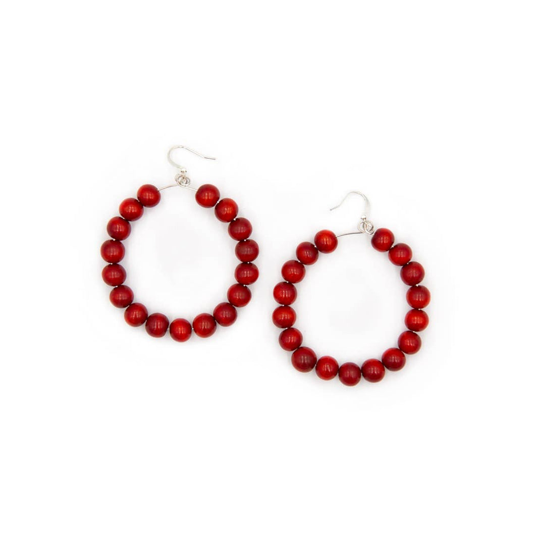 Mayito Earrings {red} - Global Hues Market