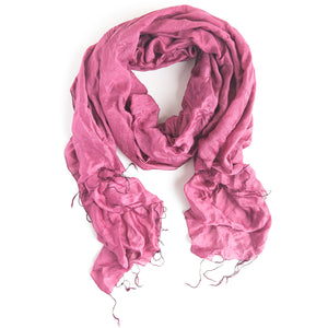 Lan Scarf {berry} - Global Hues Market